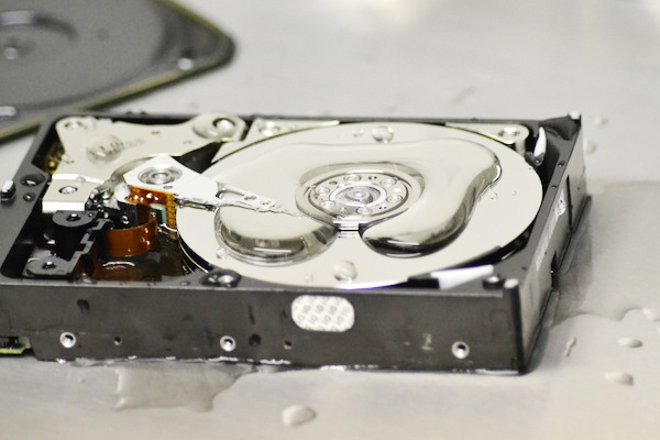 Can You Destroy Hard Drive With Water