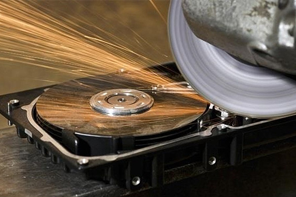 How to Destroy An Old Hard Drive