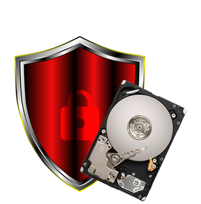 Hard Drive And Data Destruction Logo Picture