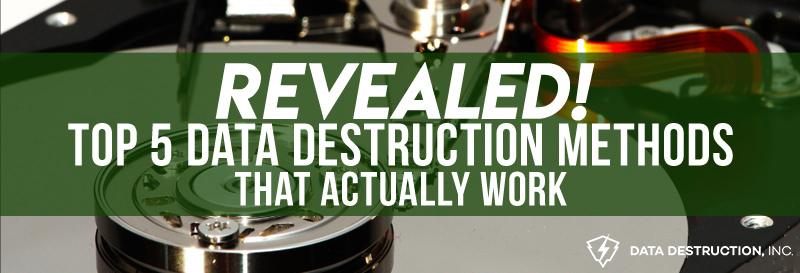 Hard Drive Destruction Methods That Actually Work